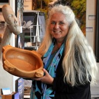 Signy Cohen - Owner of the Reflecting Spirit Gallery in Tofino & Ucluelet BC
