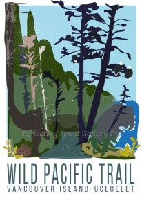 Card / Wild Pacific Trail Vancouver Island-Ucluelet