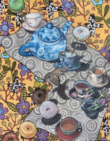 Tea Time in the Garden of Earthly Delights