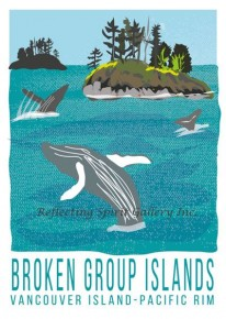 Card / Broken Group Islands Vancouver Island