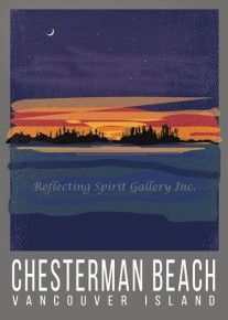 Card / Chesterman Beach Vancouver Island
