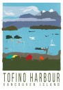Card / Tofino Harbour Vancouver Island