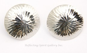Sun Burst Stud Earrings