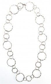 Lg. Silver Chain Necklace