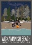 Card / Wickaninnish Beach Vancouver Island