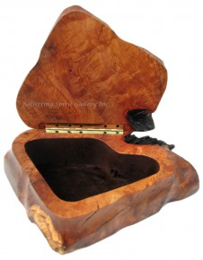 Arbutus Wood Keepsake Box