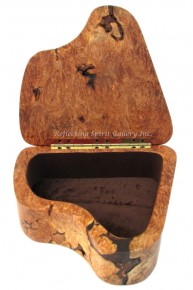 Maple Burl Keepsake Box