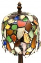 Beach Glass Boudoir Lamp