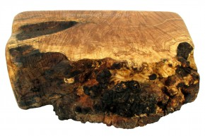 Large Natural Burl Jewelry Box