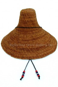 Traditional Woven Cedar Bark - Hat