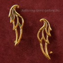 Bronze Angel Wing Ear Hugger