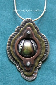 Cosmic Temple Pendant