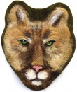 Large Felted Cougar