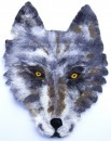 Large Felted Wolf