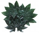 Arillia Leaf Glass Platter
