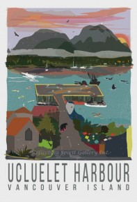 Card-Ucluelet Harbour Vancouver Island