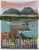 Ucluelet Harbour Vancouver Island