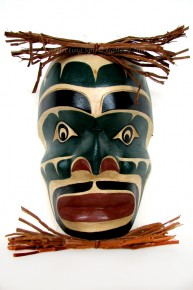 Head Winter Dancer Mask