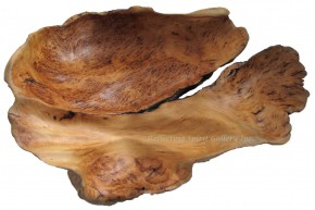 Hand Carved Yellow Cedar Burl Bowl