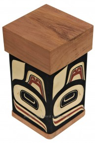 Red Cedar Orca Bentwood Box