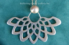 Lace Lotus Pendant