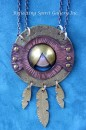 Cosmic Dream Catcher Necklace