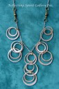 Silver Hoop Necklace
