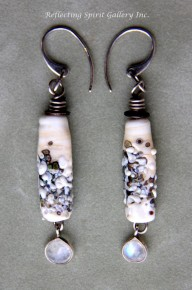 """Beneath Rockweed"" Earrings"