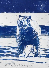 Winter Grizzly - Blue
