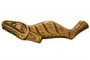 Carved Yellow Cedar Seal