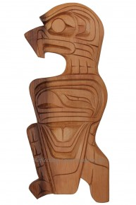 Red Cedar Eagle Carving