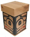 Red Cedar Raven Bentwood Box