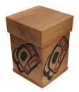 Red Cedar Eagle Bentwood Box