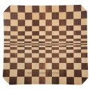 Checkerboard Segmented Plate