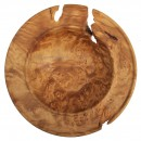 Maple Burl Lipped Bowl