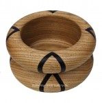 Butternut & Wenge Segmented Bowl