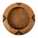 Segmented Cherry & Walnut Bowl