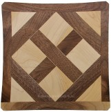 Segmented Walnut & Maple Plate