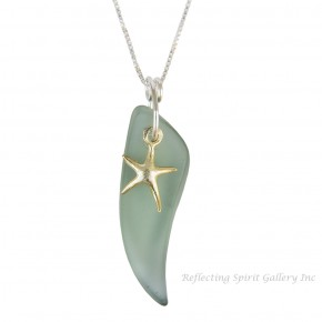 Gold Vermeille Seastar Necklace