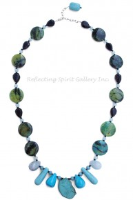 Amazonite Quartz Necklace