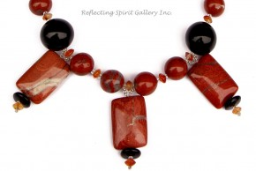 Red Poppy Jasper Necklace