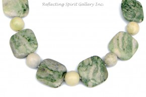 Milky Jade Necklace
