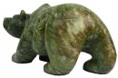 Soft Green Marble Bear