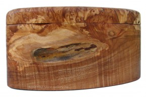Birdseye Big Leaf Maple Burl Box