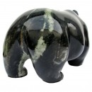 BC Marble Black Bear with Green Stripe