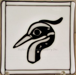 Native Heron Plate