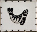Native Seal Glass Plate