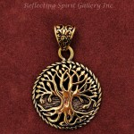 Bronze Tree of Life Pendant