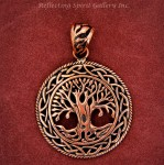 Copper Celtic Tree of Life Pendant