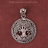 Silver Celtic Tree of Life Pendant